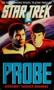 Cover of: Probe by Margaret Wander Bonanno