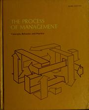 The process of management by William Herman Newman