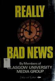 Really Bad News by Media Group Staff Glasgow University