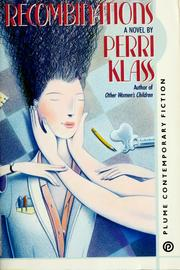 Cover of: Recombinations by Perri Klass