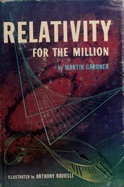 Cover of: Relativity for the million by Martin Gardner