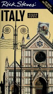 Cover of: Rick Steves' Italy 2002 by Rick Steves
