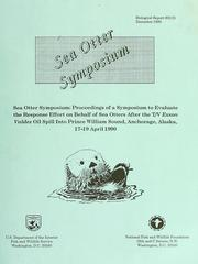Cover of: Sea otter symposium by Keith Bayha