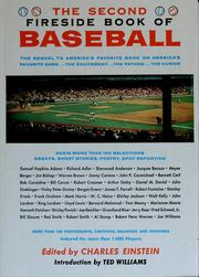Cover of: The second fireside book of baseball by Charles Einstein