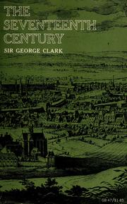 The seventeenth century by George Norman Clark