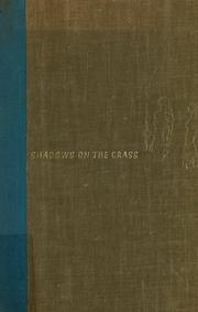 Cover of: Shadows on the Grass by Isak Dinesen