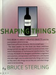 Cover of: Shaping things by Bruce Sterling