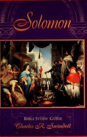Solomon by Charles R. Swindoll