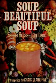 Soup, Beautiful Soup Felipe Rojas-Lombardi
