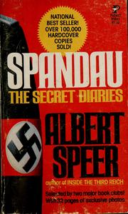 Spandau by Speer, Albert