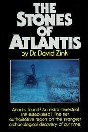 The stones of Atlantis by David Zink