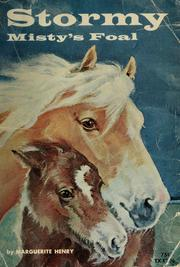 Cover of: Stormy, Misty's foal by Marguerite Henry