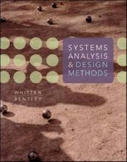 Systems analysis and design methods PDF