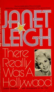 Cover of: There really was a Hollywood by Janet Leigh