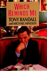 Cover of: Which reminds me by Tony Randall