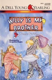 Cover of: Willy is my brother | Peggy Parish
