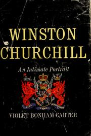 Winston Churchill by Violet Bonham Carter