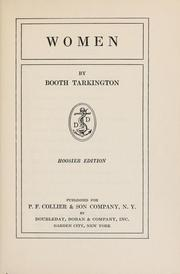 Cover of: Women by Booth Tarkington