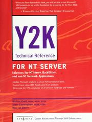 Y2K technical reference for NT server by Melissa Craft