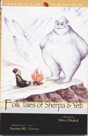 Cover of: Folk Tales of Sherpa and Yeti by Shwa Dhakal