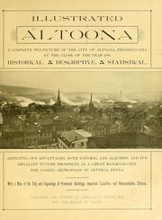 Cover of: Illustrated Altoona by Altoona, Pa. Board of trade