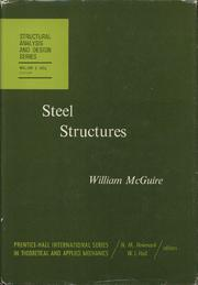 Steel Structures by McGuire, William