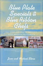 Blue plate specials & blue ribbon chefs PDF