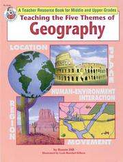 Teaching the Five Themes of Geography, Grades 5 and up PDF