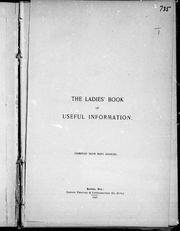 The Ladies book of useful information by