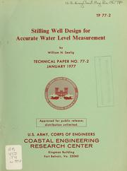 Stilling well design for accurate water level measurement