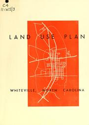 Land use plan, Whiteville, North Carolina by North Carolina. Division of Community Planning