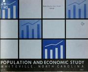 Population and economic study, Whiteville, North Carolina by North Carolina. Division of Community Planning