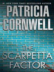 Cover of: The Scarpetta factor by Bernard Cornwell