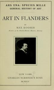 Art in Flanders by Max Rooses