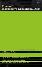 Free and inexpensive educational aids by Thomas J. Pepe