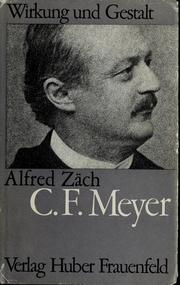 Conrad Ferdinand Meyer by Alfred Zch
