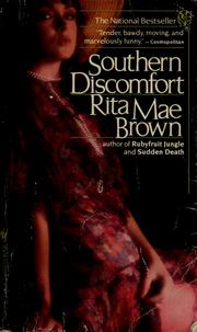 Cover of: Southern discomfort by Rita Mae Brown