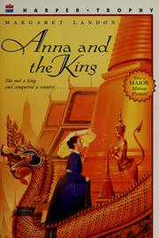 Anna and the King by Margaret Landon