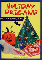 Holiday Origami by Jill Smolinski