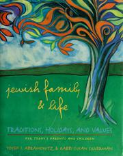 Cover of: Jewish family & life by Yosef I. Abramowitz