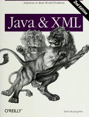 Java & XML by Brett McLaughlin