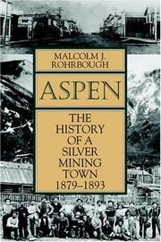 Aspen by Malcolm J. Rohrbough
