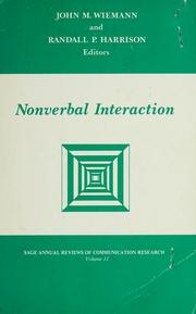 Nonverbal interaction by