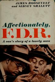 Affectionately, F.D.R by James Roosevelt