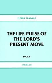The life-pulse of the Lord's present move PDF