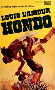 Cover of: Hondo by Louis L'Amour