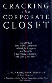 Cracking the corporate closet by Baker, Daniel B.