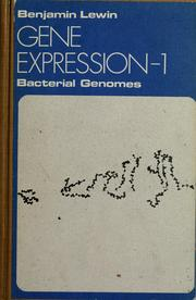 Gene expression by Benjamin Lewin