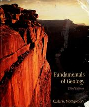 Fundamentals of geology by Carla W. Montgomery