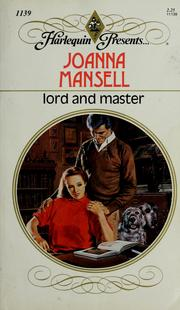 Cover of: Lord And Master by Joanna Mansell